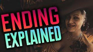 Resident Evil Village - Story + Ending EXPLAINED // What Happens NEXT?