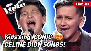 TOP 10 | BEAUTIFUL CÉLINE DION songs covered in The Voice Kids!