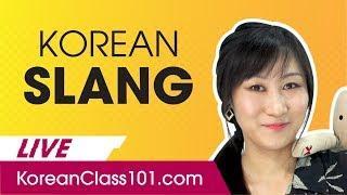 Top Korean Slang Words to Speak Like a Native