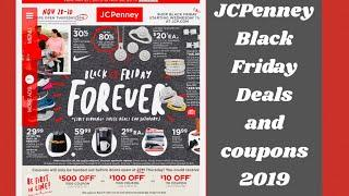 JCPENNEY BLACK FRIDAY TOP DEALS 2019 || BLACK FRIDAY DOOR BUSTERS 2019 || Coupons