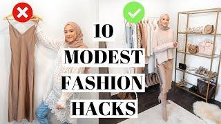 Modest Fashion Hacks Every Girl Should Know! *Life Changing*