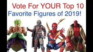 VOTE For YOUR Top 10 Favorite Action Figures of 2019!