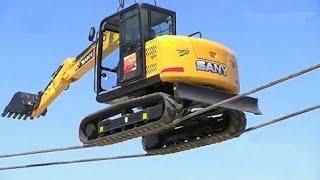 10 World's Dangerous Powerful Machines Work Monster Heavy Equipment Truck Transport Operator Skill