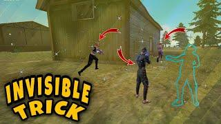 Free Fire New Invisible Trick / Top 5 Invisible Bug In Garena Free Fire #80