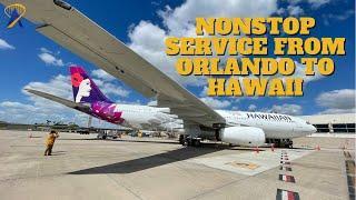 Hawaiian Airlines Begins Nonstop Service to Orlando