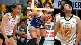 TOP 10 UNEXPECTED LUCKY POINTS by the PLAYER PART 2 • PHILIPPINE WOMEN'S VOLLEYBALL • PSL| UAAP| PVL
