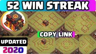 [UPDATED] COC TH10 LEGEND + WARBASE with COPY LINK!! BEST COC TH10 CWL BASE 2020 anti2 & anti 3 star