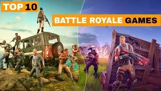 Top 10 Battle Royale Games for Android || 2020 || High Graphics