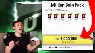 1 MILLION COIN Pack Opening... *INSANE PULL* - Madden 20 Ultimate Team