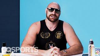 10 Things Tyson Fury Can't Live Without | GQ Sports
