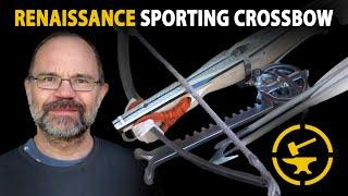16th Century Sporting Crossbow with Cranequin