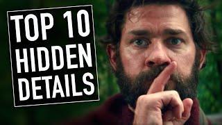 Top 10 Hidden Details In A Quiet Place | A Quiet Place Explained