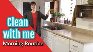 Clean with me: My Morning Routine