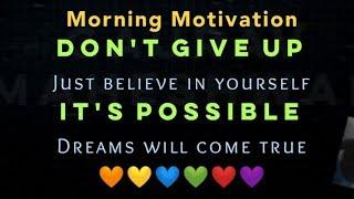 Top 10 Morning Motivational Quotes For Success in Life | Good Morning Status & Messages