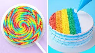 So Yummy Rainbow Cake | World's Best Cake Recipe | Yummy Colorful Cake Compilation By Cake Lovers
