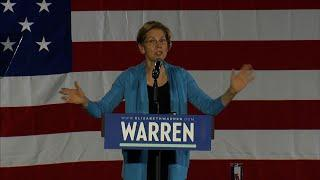 Warren vows campaign is 'built for the long haul'