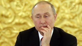 Putin's popularity takes a hit