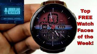 TOP FREE Must See & Must Download Samsung Galaxy Watch Active 2/Galaxy Watch/Gear S3 Watch Faces