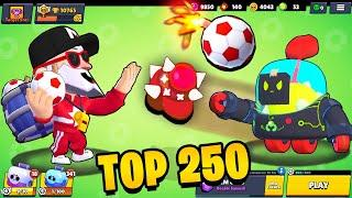 TOP 250 EPIC MOMENTS IN BRAWL STARS // World Record - Funny Moments, Glitches & Fails #88