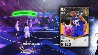 I UNLOCKED THE *NEW* GALAXY OPAL BUDDY HIELD!! TOP 10 GUARD?? MUST HAVE CARD!!! NBA 2K21 MyTEAM