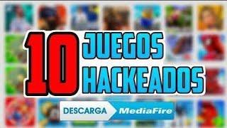 #TOP 10 JUEGOS HACKEADOS PARA ANDROID POR MEDIAFIRE 2020 GRATIS!!!