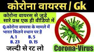 corona virus top 10 question   कोरोना वायरस के महत्वपूर्ण प्रश्न   corona virus fact