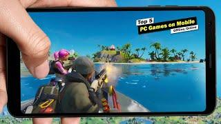 Top 5 PC Games That Can Be Played on Android