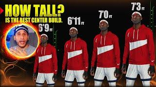 HOW TALL IS THE BEST CENTER BUILD? ★ WHAT HEIGHT IS THE BEST FOR A BIG MAN CENTER? NBA 2K20