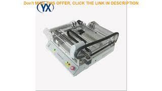 Top Cheap Cost TVM802B With 46 Feeders SMD Soldering Machine Automatic Pick and Place Machine Low B