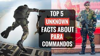 Para Commandos - Top 5 Unknown Facts About PARA SF | Para Commandos Unknown Facts