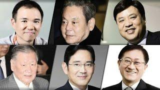 Top 10 Richest People In South Korea 2020 | Richest Korea