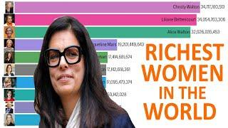 Top 10 Richest Women In The World 2000 - 2020