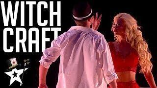 Magician Levitates Above The Stage! | Magicians Got Talent