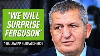 'It's the biggest fight in UFC history': Khabib's father promises to 'surprise' Tony Ferguson