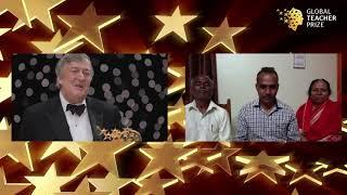 Stephen Fry and Ranjit Disale, Winner of the Global Teacher Prize 2020 - Q&A session