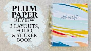 PLUM PAPER PLANNER REVIEW {WEEKLY + DAILY }
