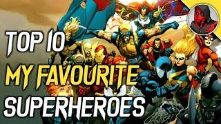 Top 10 My Favourite Superheroes of All Time | Explained in Hindi | SUPER NERD