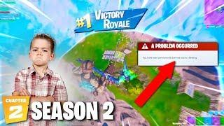 I almost got BANNED by the FUNNIEST little kid on Fortnite...