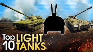 TOP 10 LIGHT TANKS / War Thunder
