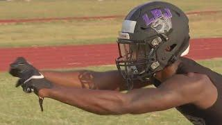 LBJ High School football team features two top recruits