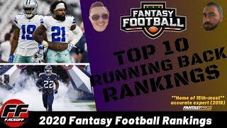 Fantasy Football Rankings 2020: Way Too Early Top 10 Running Back (RB) Rankings