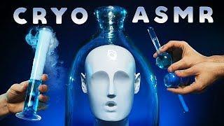 ASMR Cryo Spa Triggers for Sleep – Dry Ice Tingles, Glass Sounds, Liquids & More