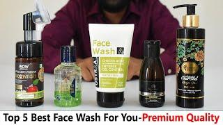Top 5 Best Face Wash In India -{Personal Experience}- For All Skin Types