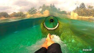 Aquatica Thrill Water Slides POV -  Aquatica Water Park 2020
