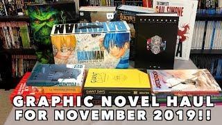 Graphic Novel, Omnibus, Hard Covers, Manga, TPBs and Comic Book Haul November 2019!