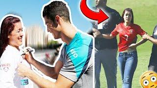 Cristiano Ronaldo's Top 10 Crazy fan meets! Girl breaks security to Hug Ronaldo & she gets a kiss |