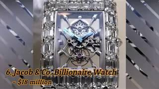 Top 10 Most Expensive Watches Ever Made | Cost Over A Million Dollar