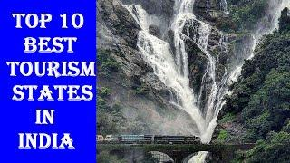 Top 10 Best Tourism States in India | Most visited states of India by foreign tourists India Tourism