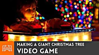 Making a Giant Christmas Tree that's also a Video Game!