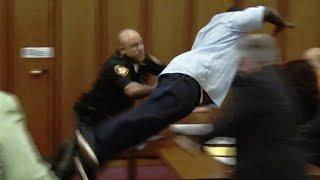 Top 10 Courtroom Freakouts (One Guy Poisons Himself!)
